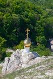 Il monastero Uspensky dell'uomo sacro di Divnogorsky Fotografia Stock Libera da Diritti