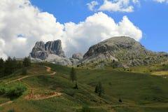 Il mondo meraviglioso della montagna nel Tirolo del sud Immagini Stock