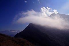 Il mondo meraviglioso della montagna nel Tirolo del sud Fotografie Stock Libere da Diritti