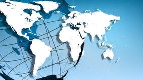 Il mondo nel moto illustrazione vettoriale