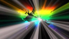 Il mondo nello spettro Immagine Stock