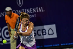 Il mondo No 20 tennis Sara Errani Fotografie Stock