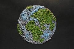 Il mondo in sabbia Fotografie Stock
