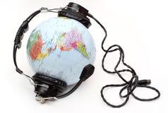 Il mondo sta ascoltando Immagine Stock