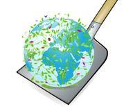 Il mondo sulla lamierina illustrazione di stock