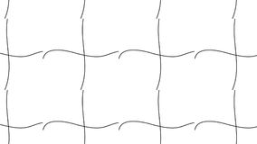 Il monocromio astratto moderno semplice ha curvato la linea zoccolo a quadretti Immagini Stock Libere da Diritti