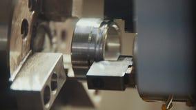 Il montaggio di 3D parte sulla macchina alla fabbrica Fotografie Stock