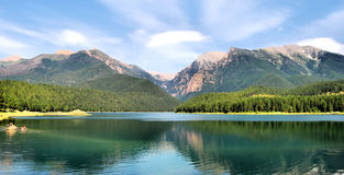 Il Montana Fotografie Stock Libere da Diritti