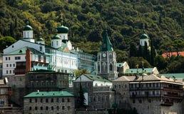 Il monte Athos - Panteleimonos Immagine Stock Libera da Diritti