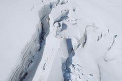 Il Monte Bianco, il più alta montagna di Europa Immagine Stock Libera da Diritti