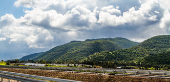 Il monte Carmelo Fotografia Stock