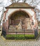 Monumento il monte degli Ulivi (1524). Offenburg, Germania Fotografia Stock Libera da Diritti