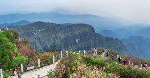 Il monte Emei Immagini Stock
