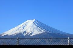 Il monte Fuji innevato Immagine Stock Libera da Diritti