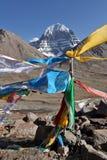Il Monte Kailash santo nel Tibet Immagine Stock Libera da Diritti