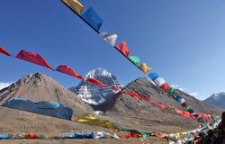 Il Monte Kailash santo nel Tibet Fotografia Stock Libera da Diritti