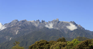 Il Monte Kinabalu al Borneo, Sabah, Malesia Fotografia Stock Libera da Diritti