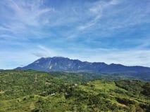 Il Monte Kinabalu, Borneo, Malesia Fotografia Stock