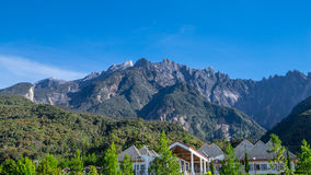 Il Monte Kinabalu in Sabah Immagine Stock
