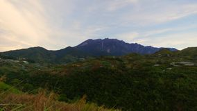Il Monte Kinabalu, Sabah stock footage