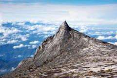 Il Monte Kinabalu in Sabah, Malesia Immagine Stock