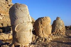 Il monte Nemrut Fotografia Stock