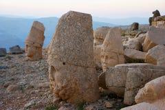 Il monte Nemrut Fotografie Stock