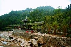 Il monte Qincheng fotografie stock