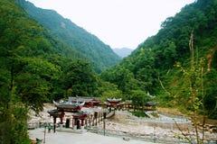 Il monte Qincheng immagini stock