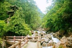 Il monte Qincheng immagine stock libera da diritti