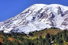 Il monte Rainier Fotografia Stock Libera da Diritti