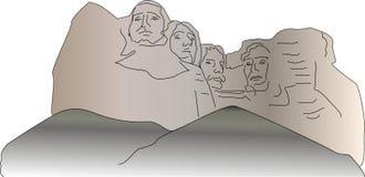 Il monte Rushmore Immagine Stock Libera da Diritti