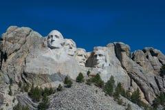Il monte Rushmore in primavera Fotografia Stock