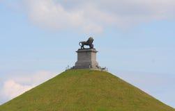 Il monticello del leone di Waterloo Fotografia Stock