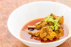 il montone ribs il curry Immagine Stock Libera da Diritti