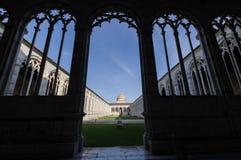 Il monumentale di Camposanto a Pisa Immagine Stock