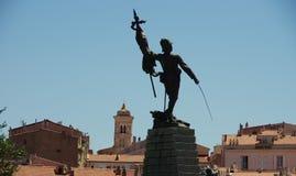 Il monumento al legionario, l'esercito storico basato su cuori fotografia stock