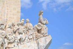Il monumento alla scoperta Fotografia Stock Libera da Diritti