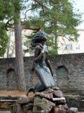 Il monumento alla sirena fotografie stock