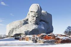 Il monumento alle protezioni della fortezza di Brest Immagini Stock Libere da Diritti