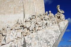 Il monumento alle scoperte Fotografia Stock Libera da Diritti