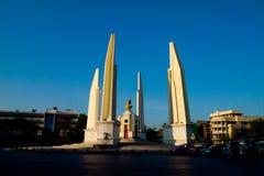 Il monumento Anusawari tailandese Prachathipatai di democrazia fotografia stock libera da diritti