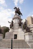 Il monumento del Equestrian del George Washington fotografie stock libere da diritti