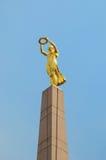 Il monumento del ricordo a Lussemburgo Fotografie Stock Libere da Diritti