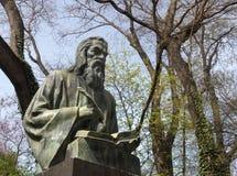 Il monumento del san Paisius di Hilendar a Varna, Bulgaria Fotografia Stock Libera da Diritti