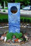 Il monumento della fiamma di pace di mondo a L'aia, Paesi Bassi fotografia stock libera da diritti