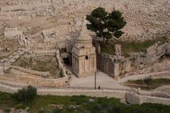 Il monumento di Assalonne, Gerusalemme Fotografie Stock Libere da Diritti