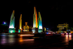 Il monumento di democrazia della Tailandia fotografia stock