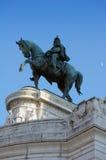 Il monumento di Emmanuel del vincitore a Roma, Italia fotografia stock