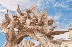 Il monumento di libertà Fotografie Stock Libere da Diritti